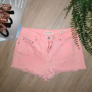😜💥 5/$20 🎀 Bullhead Pink Denim High Rise Shorts